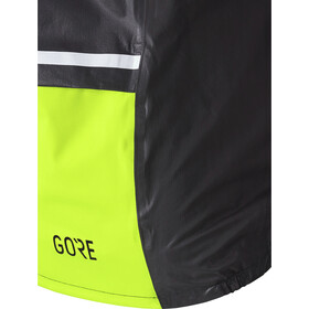 GORE WEAR C5 Gore-Tex Shakedry 1985 Veste Homme, black/neon yellow